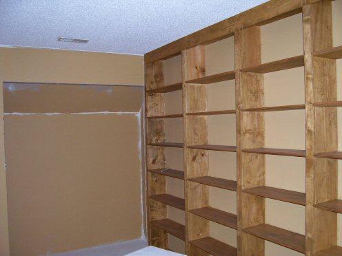 Finished Large Bookcase