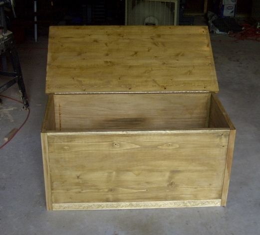 Interior View of Completed Toybox
