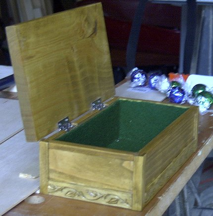 Side View of Gift Box